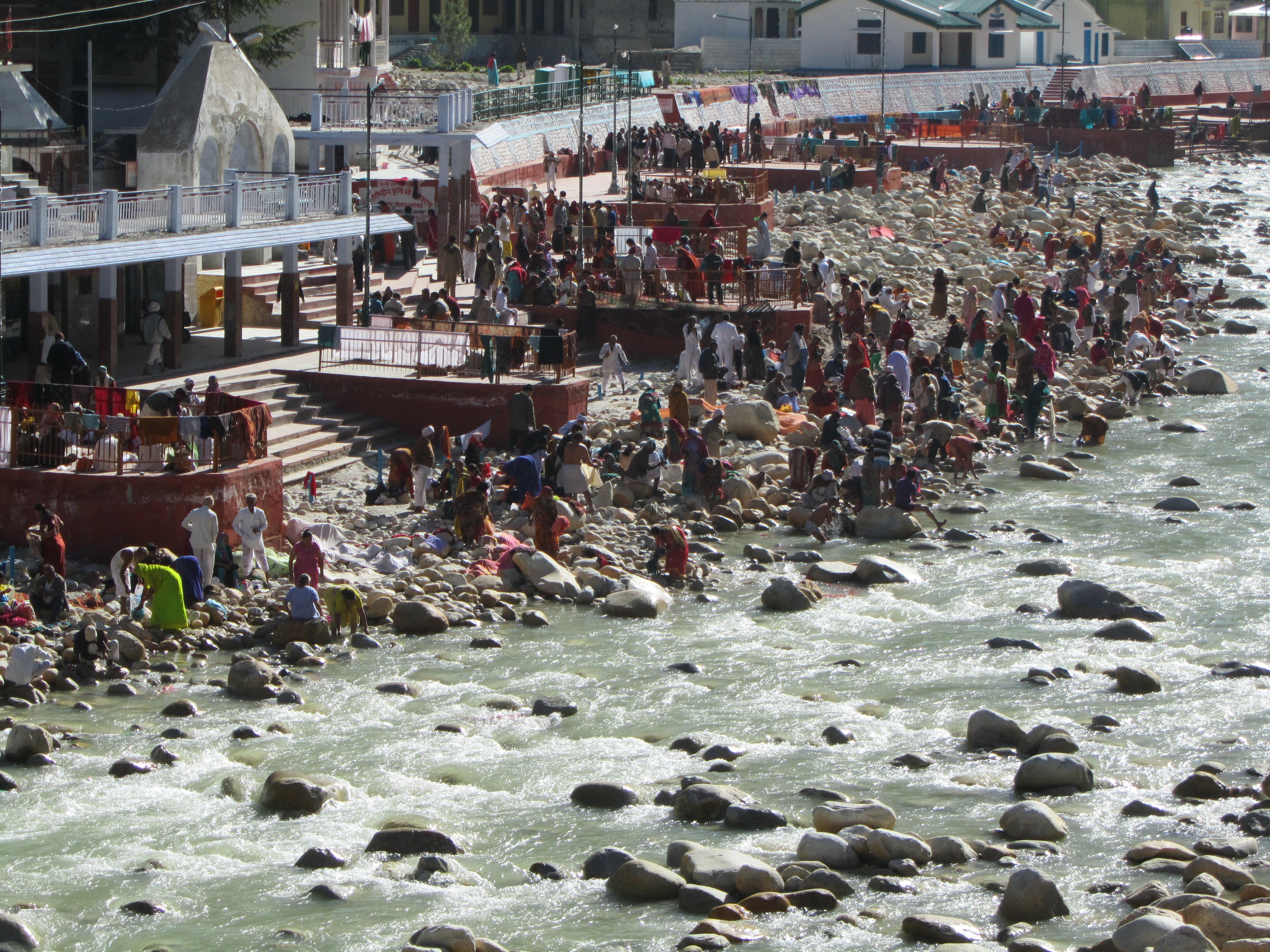 Gangotri – für viele der Endpunkt der Pilgerreise.